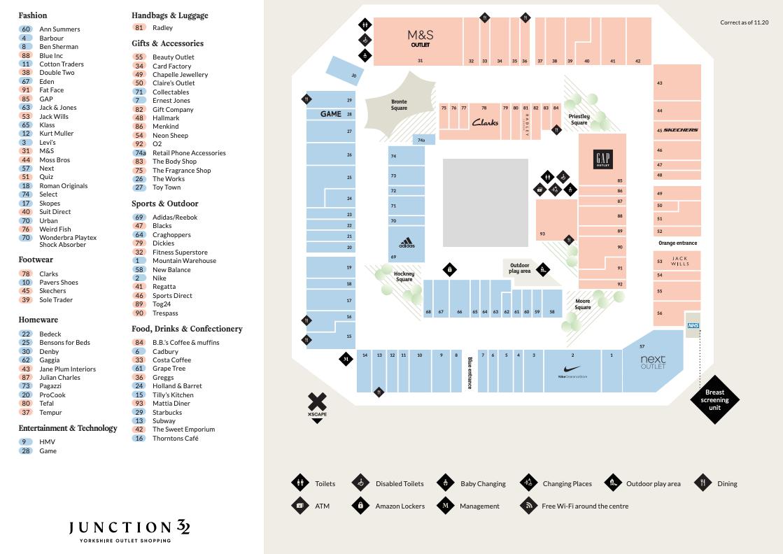 Centre map
