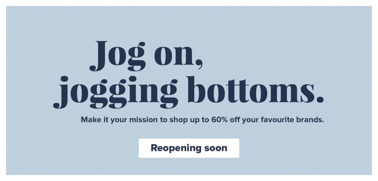 Joy of Shopping banner