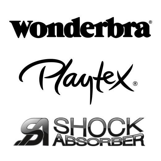 Wonderbra Playtex Shockabsorber logo