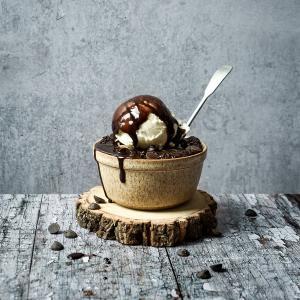 Chocolate ramekin cake