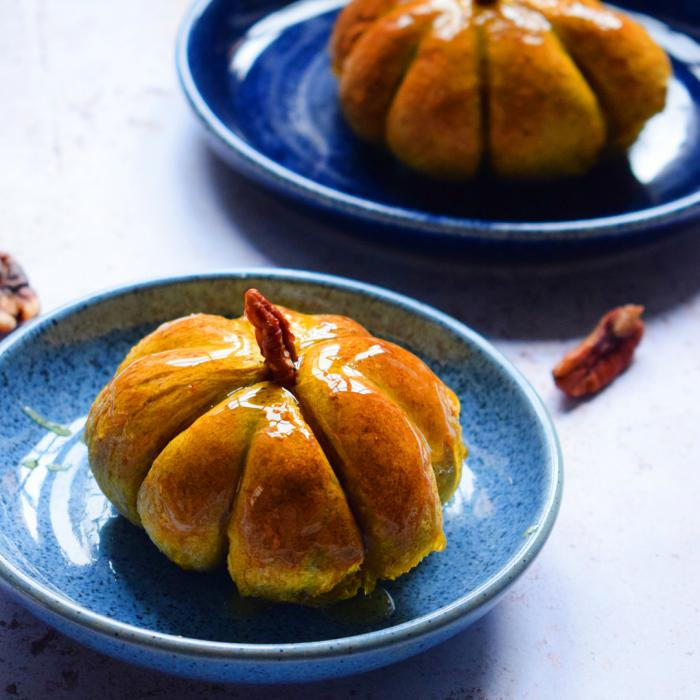 Recipes for your Halloween pumpkin leftovers from Denby x LetsEatSmart