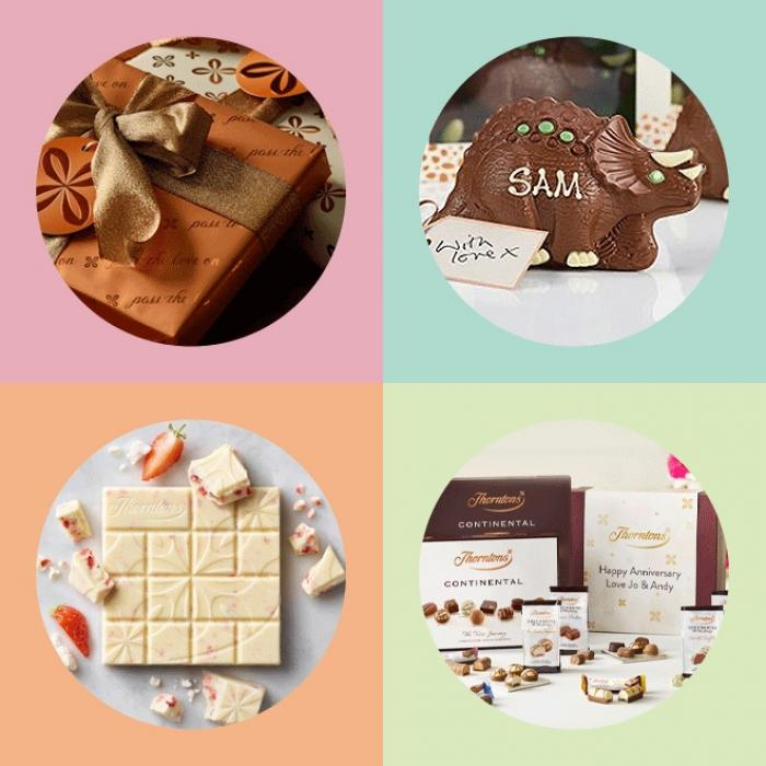 Create your personalised gift at Thorntons